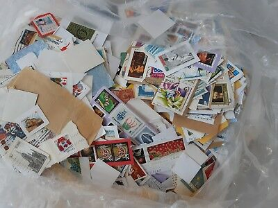 Stamps from Around The World 100 Mixed in a Bag Kiloware