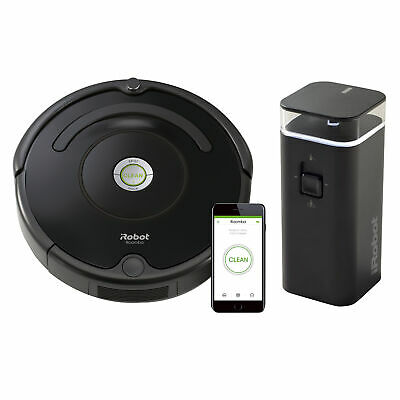 iRobot Roomba 675 Wi-Fi Connected Robotic Vacuum Cleaner with Wall Barrier