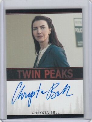 Twin Peaks (2018) Chrysta Bell (Agent Preston) Limited Event Series Autograph L