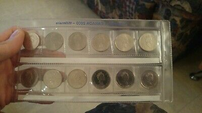 Canada 2000 Millennium Designs Commemorative 12 Coin Set