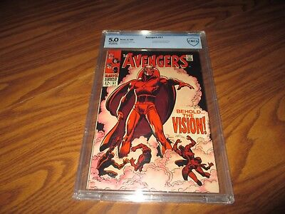 Avengers #57 CBCS 5.0 First Appearance of Silver Age Vision