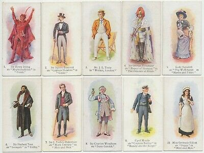 PLAYER, John - 1916 : Players Past & Present Complete Set (25) Cigarette Cards