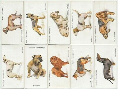 PLAYER, John - 1931 : Dogs, By Wardle (Full Length) Complete Set (50) Cig. Cards