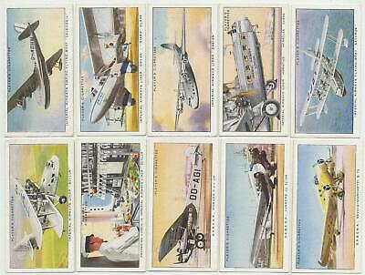 PLAYER, John - 1936 : International Air Liners Complete Set (50) Cigarette Cards