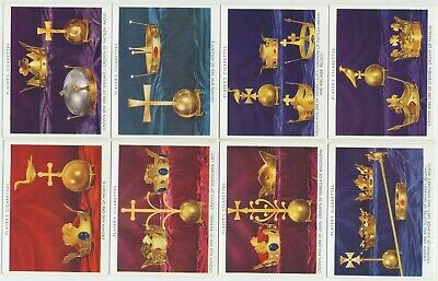 PLAYER, John - 1937 : British Regalia Complete Set (25) Large Cigarette Cards