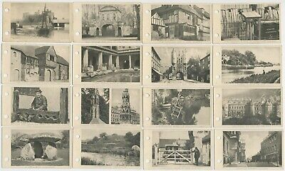 SARONY - 1925 : Links With The Past Complete Set (50) Cigarette Cards