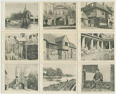 SARONY - 1925 : Links With The Past [L] Complete Set (50) Cigarette Cards