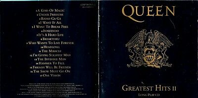 Queen Cd album - Greatest Hits II / 2 ,17 tracks