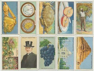WILLS UK - 1924 : Do You Know, 2nd Series Complete Set (50) Cigarette Cards