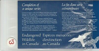Canada Thematic Collection Scott # 17 Endangered Wildlife