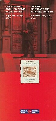 Canada Souvenir Folder with pane of 8 VF MNH Scott 1900 and Booklet