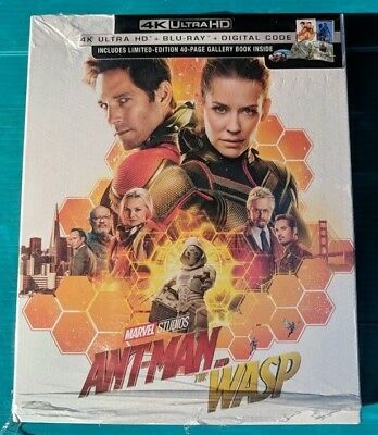 New Target Ant-man and the Wasp 4k ULTRA HD & Blu-ray NO DIGITAL BLUERAY movie