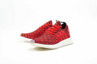 6707a2e0e Adidas NMD R2 PK Men Sneaker Boost Primeknit Core Red Black BB2910 Size  7.5-10.5