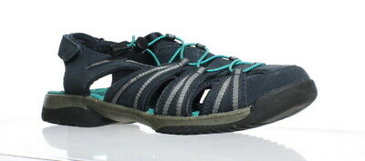 4c357a80dd0 Clarks Womens Tuvia Maddee Navy Synthetic Fisherman Sandals Size 9 (164015)