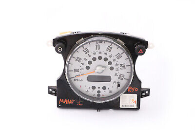 *BMW Mini Cooper One R50 R52 Speedometer Speedo Clock Instrument Cluster 6957297