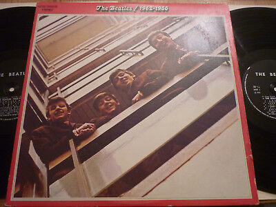 The Beatles Double Rouge 1962-1966 Rare French Press Black Label