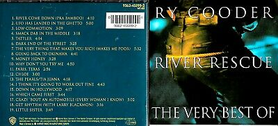 Ry Cooder cd album - The Very Best Of, River Rescue