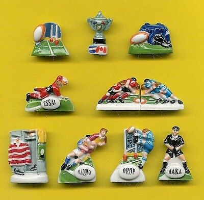 statuine (fave) PASSION RUGBY serie completa ref.S17