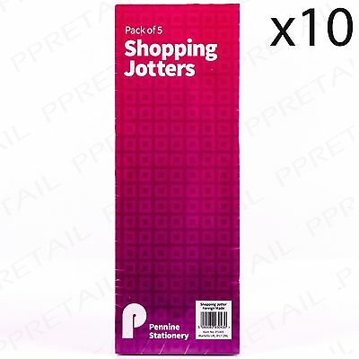 10 x WAITRESS/WAITER NOTE PADS Notebook Memo List Jotter Notepad Note Book List