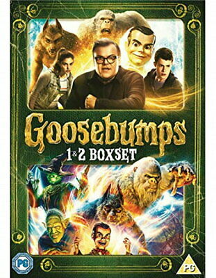 Goosebumps 1&2 [DVD] [2018] [New DVD]