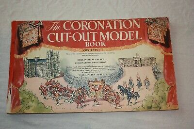 The Coronation Cut-Out Model Book (Shaw)- Queen Elizabeth 1953 Westminster Abbey