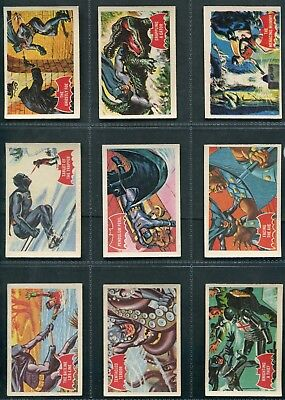 A & Bc Gum - Batman (1A-44A), (Numbered On Front) - Trade Cards - Pick Your Card