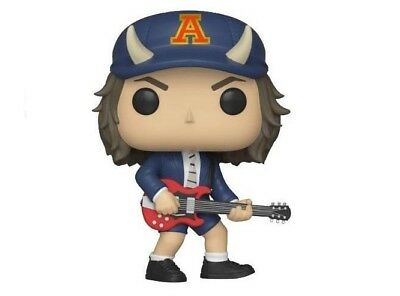 Funko Pop! Rocks 91 Acdc Angus Young Chase Edition Limitée Neuf
