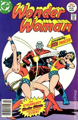 Wonder Woman (1st Series DC) #228 1977 VG 4.0 Stock Image Low Grade