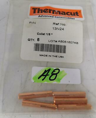 Thermacut Torch Welding Collet 1/8 13N24 *Package Of 5*