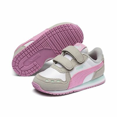 Puma Cabana Racer Sl V Inf Children Sneaker Shoes 351980 Puma White Pale Pink
