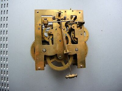 ANTIQUE German Wall Clock MOVEMENT JUNGHANS Gustav Becker GB HAC PARTS Restore