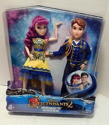 Disney Descendants 2 Mal And King Ben Exclusive 2 Pack New In Box