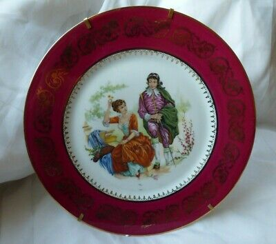 Assiette Decorative Ancienne Murale Made In France Limoges