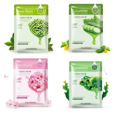 HanChan Skin Care Plant Facial Mask Moisturizing Oil Control Whitening Face Mask