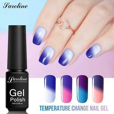 Saroline Temperature Change UV Gel Lacquer Gel Nail Polish Manicure Thermo Gel P