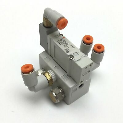 SMC SYA3140 Air Pilot Valve, 2-Position 5-Ports, Supply Pressure: 0.15-0.7MPa