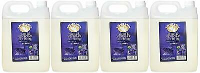 4 x Distilled Golden Swan White Vinegar 5L Cleaning Weed Killer FREE DELIVERY