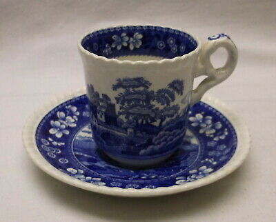 Copeland Spode Tower Demitasse Cup And Saucer