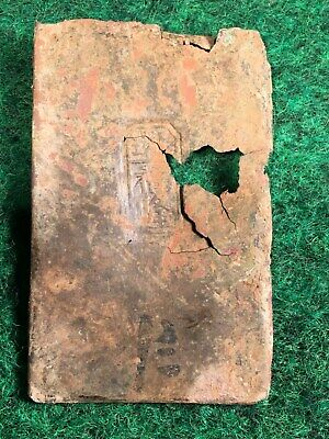 Dug Up 1800's Chinese Opium Box Stamped Tin Lid Brass Gold Rush Lamp Container U