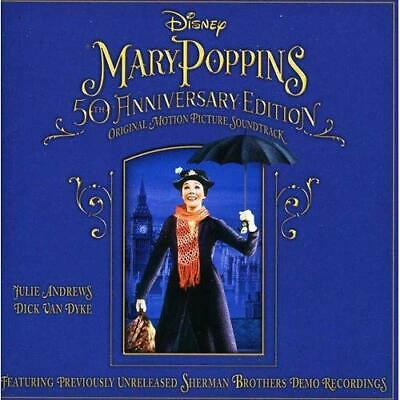Mary Poppins 50th Anniversary Edition Soundtrack Various Artists Audio CD