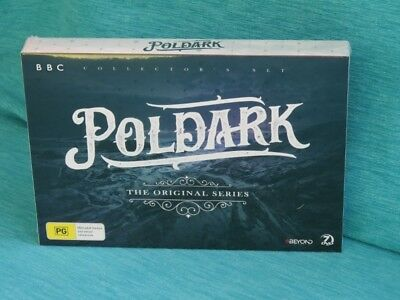 Poldark The Original Series New Sealed Dvd Season 1 & 2 Bbc Winston Graham Colle