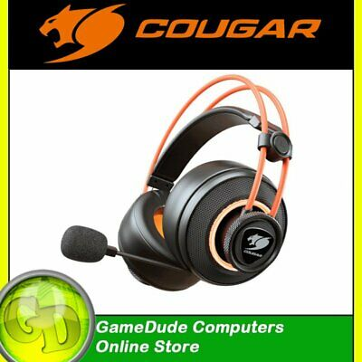 COUGAR IMMERSA PRO Ti 7.1 RGB USB Gaming Headset CGR-U50MB-710 F36