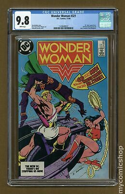 Wonder Woman (1st Series DC) #321 1984 CGC 9.8 1349448022