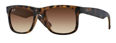 c4c1ce0376 RAY BAN BROWN tortoiseshell frame Justin sunglasses. RB 4165 710 13 ...