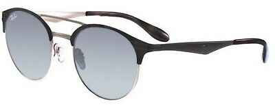 902f4744031 RAY-BAN RB3545 9004 11 Black Silver Frame Grey Gradient Lenses ...
