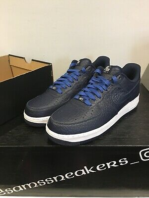 new style ebd05 41e04 Nike Air Force 1 ID Blue trainers size UK 10 - Brand New 1 sur 6 ...