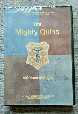 Harlequins Rugby Dvd The Mighty Quins 150 Years Of Rugby Documentary / Sealed