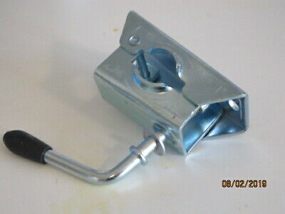 TRAILER SPARES - Split clamp for 34mm dia tube, zinc plated MP222  - NEW-
