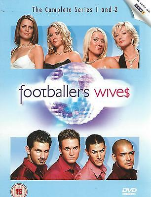 6 dvd box set / FOOTBALLERS WIVES complete series 1 & 2 + 3  ENGLISH R2 wive$