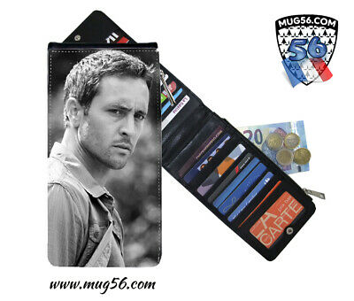 alex o'loughlin #001 hawaii five-0 card holder porte cartes